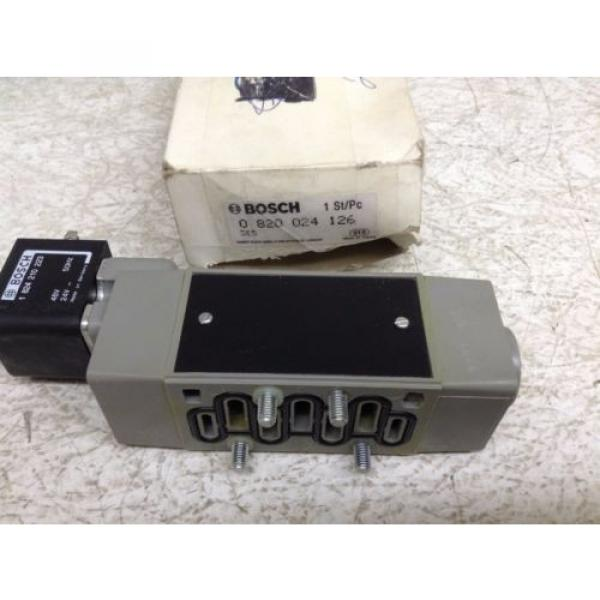 Rexroth Bosch 0820024126 Control Valve 0-820-024-126 1-824-210-223 origin TB #4 image
