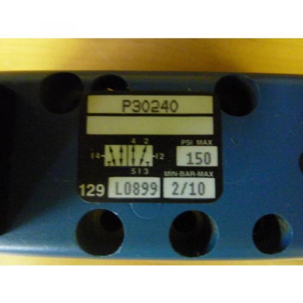 Rexroth Ceram P30240 Pneumatic Valve 150 PSI Max Coil 24VDC 11552 #2 image