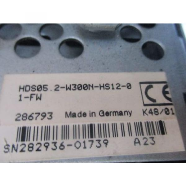 REXROTH Germany Mexico AC CONTROLLER HDS05.2-W300N-HS12-01-FW #4 image