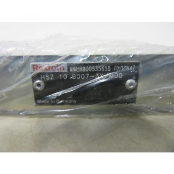 Rexroth Mexico Korea R900535658 HSZ 10 B007-3X/M00  -unused- #2 image
