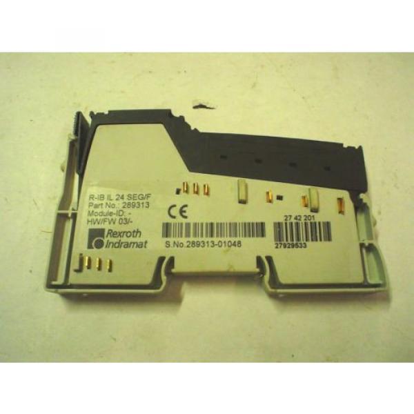 Rexroth Italy Egypt Indramat 289313 , R-IB IL 24 SEG/F - 60 day warranty #2 image