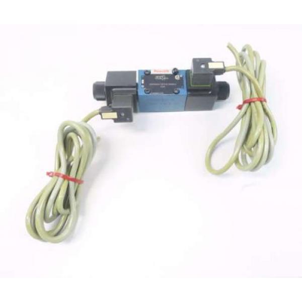 REXROTH 4WE6D60/OFEW110N9K4 120V-AC SOLENOID HYDRAULIC VALVE D549957 #1 image