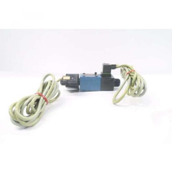 REXROTH 4WE6D60/OFEW110N9K4 120V-AC SOLENOID HYDRAULIC VALVE D549957 #2 image