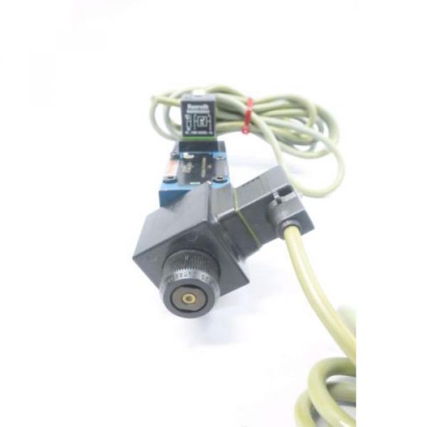 REXROTH 4WE6D60/OFEW110N9K4 120V-AC SOLENOID HYDRAULIC VALVE D549957 #3 image