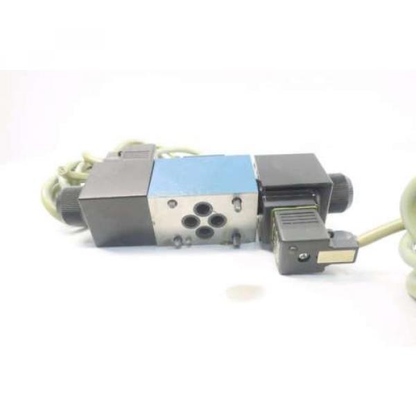REXROTH 4WE6D60/OFEW110N9K4 120V-AC SOLENOID HYDRAULIC VALVE D549957 #4 image
