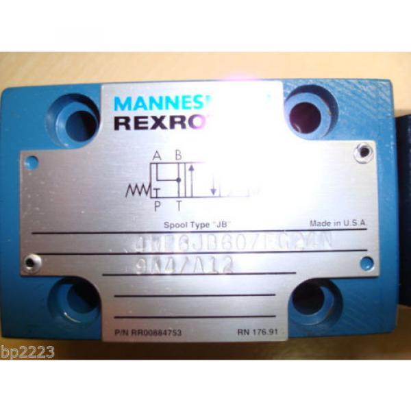 REXROTH 4WE6JB60/EG24N Directional Valve GZ45-4-A 425 24V DC 30W MANNESMANN Origin #7 image