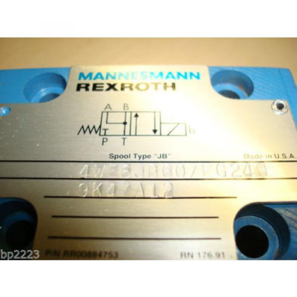 REXROTH 4WE6JB60/EG24N Directional Valve GZ45-4-A 425 24V DC 30W MANNESMANN Origin #8 image
