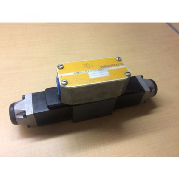 Rexroth Hydraulic Valve 4we6e51/aw120-60ndav WU35-0-A 296 120/60 46VA #1 image