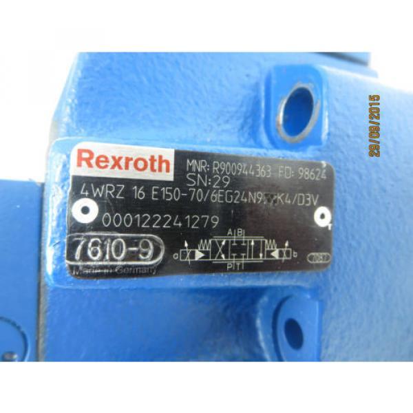 Rexroth 3DREP6C-20=25EG24N9K4/V amp; 4WRZ16E150-70 Valve Origin #5 image