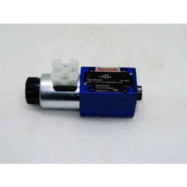 Rexroth Hydraulic Valve R900552440  /  4WE 6 C73-62/EG24N9K4/A12   /  Invoice #1 image