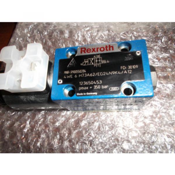Rexroth Hydraulic Directional Control Valve   R900550284 4WE6H73A62/EG24N9K4/A12 #1 image