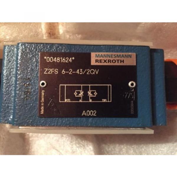 Rexroth Hydraulic Valve Z2FS 6 2-43/2QV #2 image