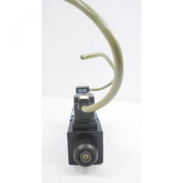 REXROTH 4WE6D62/OFEW110N9K4/62 120V-AC SOLENOID HYDRAULIC VALVE D550096 #3 image