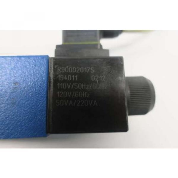 REXROTH 4WE6D62/OFEW110N9K4/62 120V-AC SOLENOID HYDRAULIC VALVE D550096 #5 image