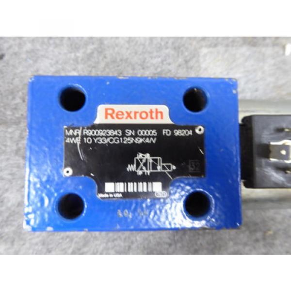 Origin REXROTH DIRECTIONAL VALVE # 4WE10Y33/CG125N9K4/V # R900923843 #2 image
