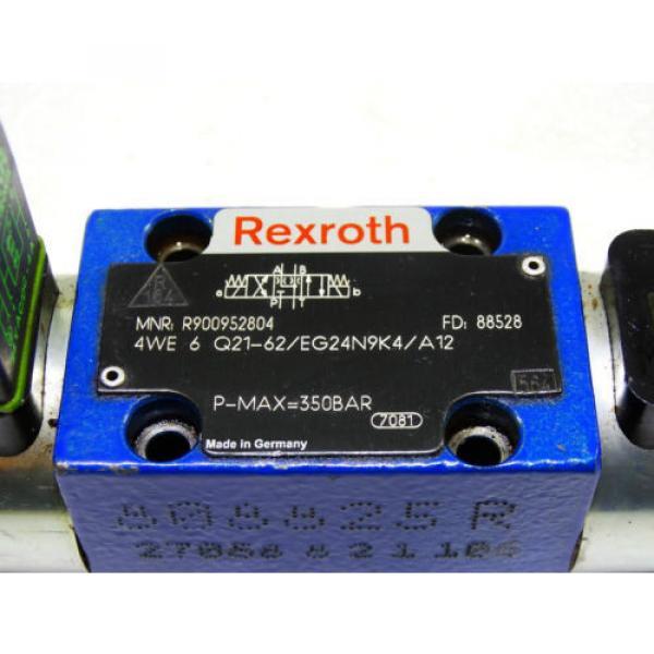 Rexroth Bosch R900952804 / 4WE 6 Q21-62/EG24N9K4/A12 ventil valve  /  Invoice #3 image