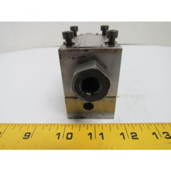 Rexroth DR6DP2-41/75Y Flow Control Valve Hydraulic W/AG 17112 Manifold #4 image