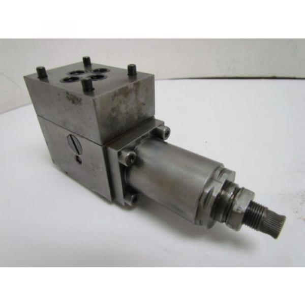 Rexroth DR6DP2-41/75Y Flow Control Valve Hydraulic W/AG 17112 Manifold #8 image