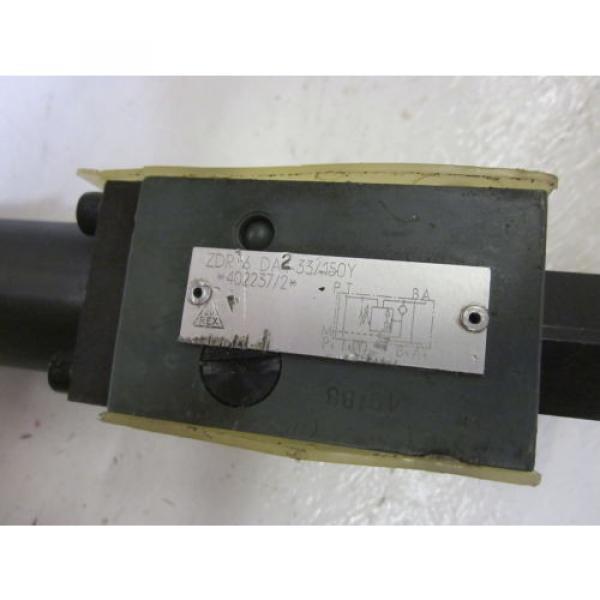 REXROTH ZDR 6 DA2-33/150Y HYDRAULIC PRESSURE REDUCING VALVE USED #4 image