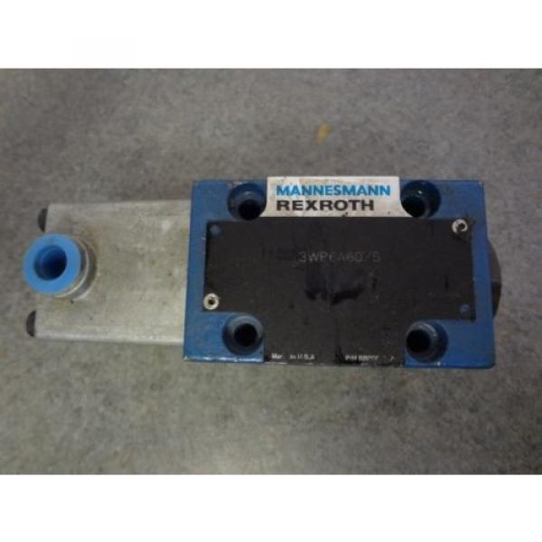 Mannesmann REXROTH Hydraulic Valve 3WP6A60/5 #1 image