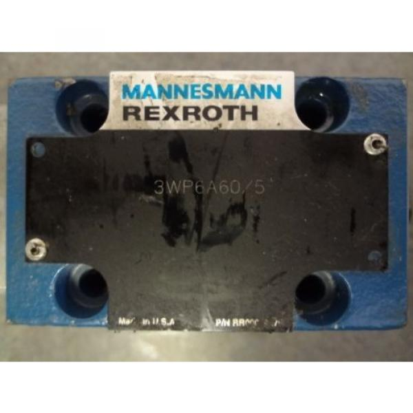 Mannesmann REXROTH Hydraulic Valve 3WP6A60/5 #2 image