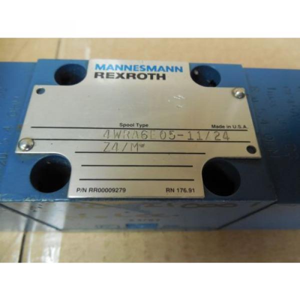 Rexroth Mannesmann Directional Valve 4WRA6E05-11/24Z4/M 4WRA6E051124Z4M origin #2 image