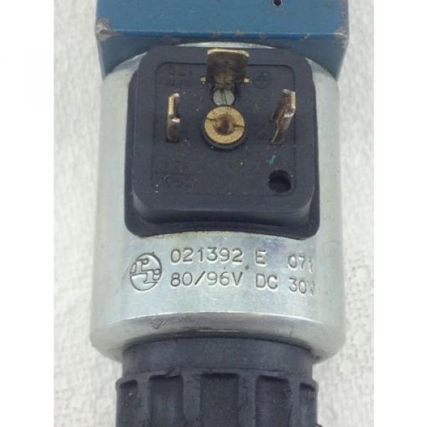 Origin REXROTH DIRECTIONAL CONTROL VALVE # A612370  FAST SHIP HB4 #2 image