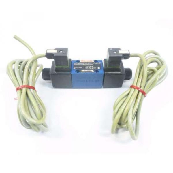REXROTH 4WE6D60/OFEW110N9K4 120V-AC SOLENOID HYDRAULIC VALVE D549958 #1 image