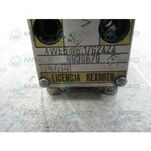 REXROTH 4WE5-N6-1/G24Z4 VALVE USED #4 image