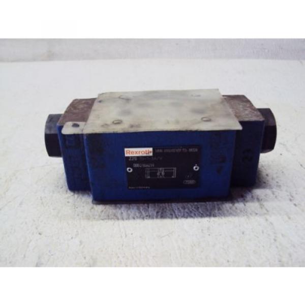 REXROTH Z2S 10-1-34/V VALVE, 000121806299 USED #1 image