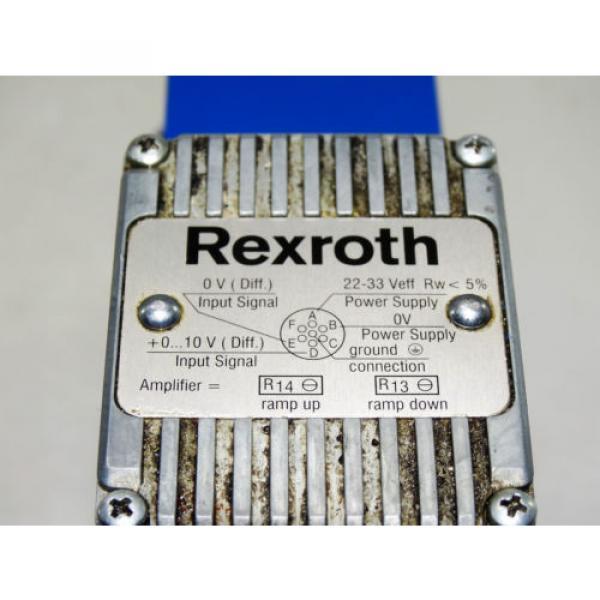 Rexroth Bosch valve ventil 3DREE 10 P-60/200YG24K31V / R900948621    Invoice #3 image