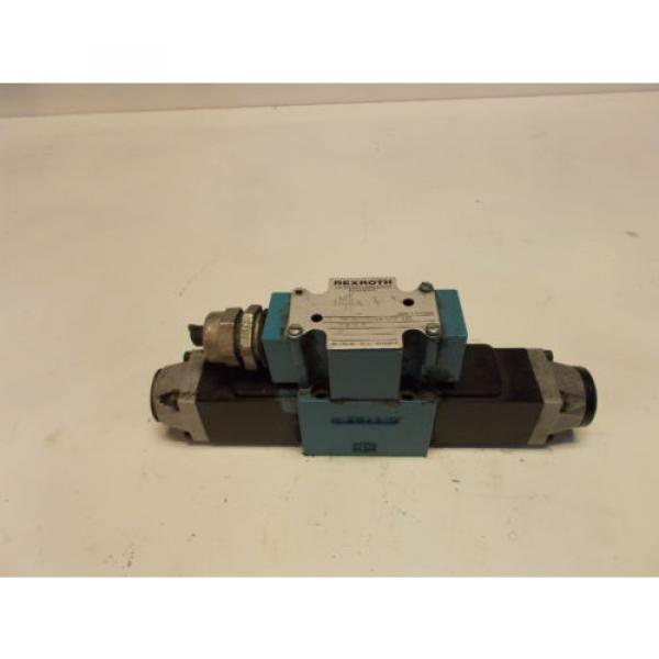 Rexroth 4WE6G52/AW120-60 Hydraulic Directional Valve D03 115V #1 image