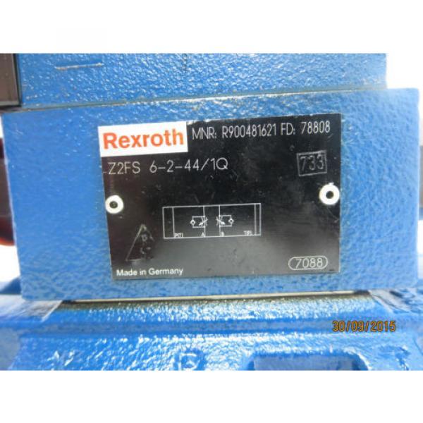 Rexroth 4WEH16HD72/6EW110N9ES2K4 Valve USED #5 image
