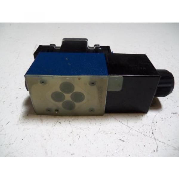 REXROTH 4WE6MA62/EW110N9DAL/62 HYDRAULIC VALVE Origin NO BOX #4 image