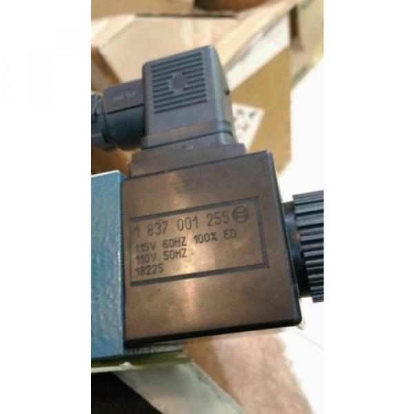 origin Rexroth Hydraulic Directional Control Valve 0810091436 081WV06P1V1001WS110 #3 image