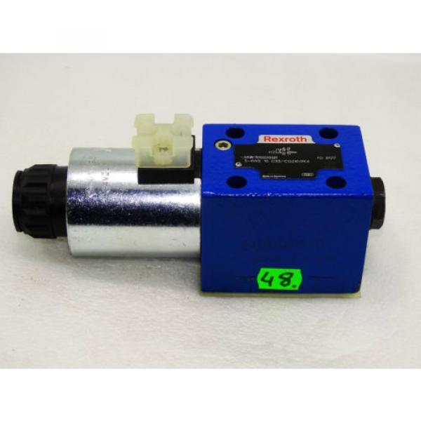 Rexroth Bosch valve ventil 5-4WE 10 C33/CG24N9K4   /  R900598389     Invoice #1 image