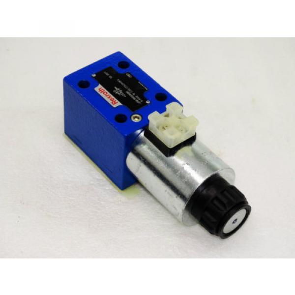 Rexroth Bosch valve ventil 5-4WE 10 C33/CG24N9K4   /  R900598389     Invoice #4 image