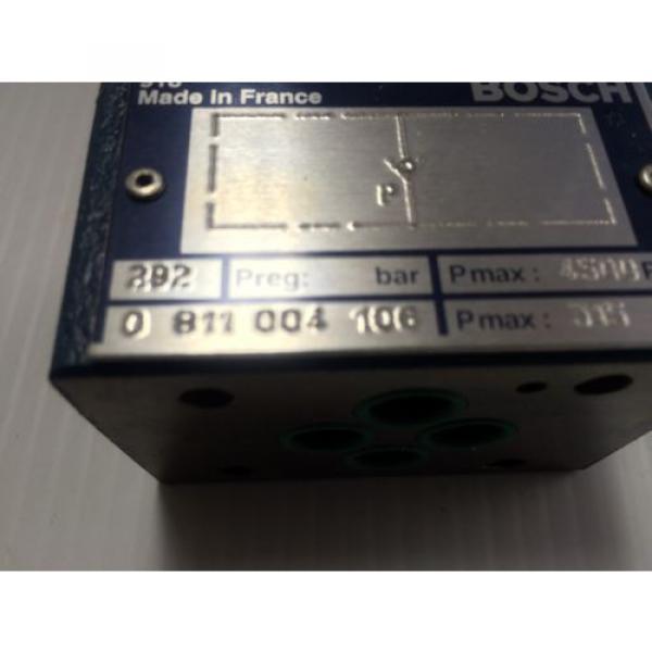 Origin Bosch Rexroth Hydraulic Flow Control Valve 0811004106 - 0 811 004 106 - BNIB #2 image