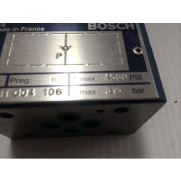 Origin Bosch Rexroth Hydraulic Flow Control Valve 0811004106 - 0 811 004 106 - BNIB #3 image