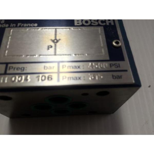 Origin Bosch Rexroth Hydraulic Flow Control Valve 0811004106 - 0 811 004 106 - BNIB #4 image