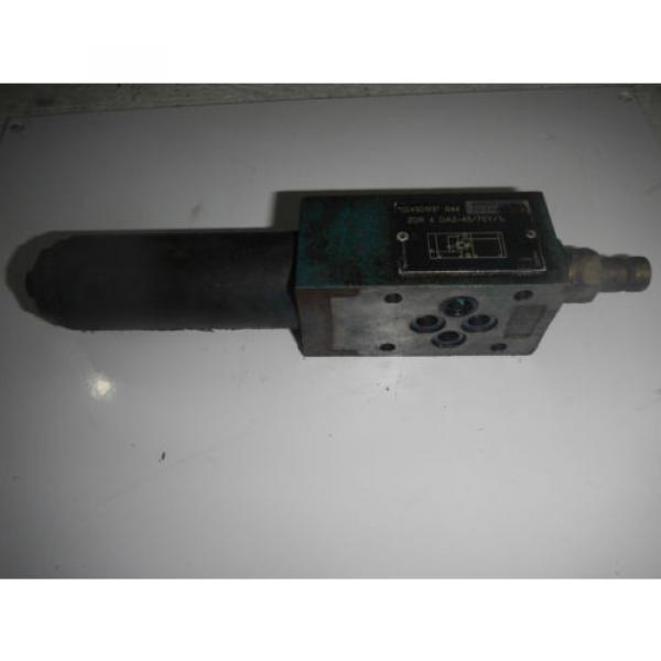 Rexroth ZDR6DA2-43/75Y/12 D03 Hydraulic Reducing Control Valve #1 image