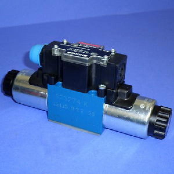 REXROTH 24VDC 125A HYDRAULIC VALVE, 4WE6W61/EG24N9DK25L/62 Origin #1 image