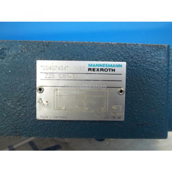 Mannesmann Rexroth Z2S 10B1-32/ Hydraulic Valve #2 image