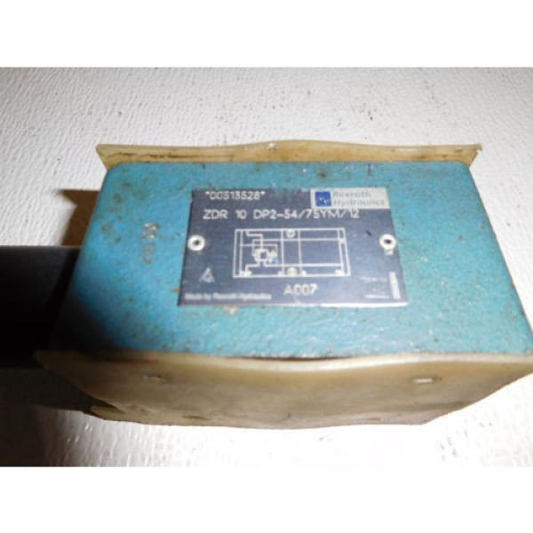 Bosch Rexroth ZDR10DP2-54/75YM/12 Pressure Reducing Valve #2 image