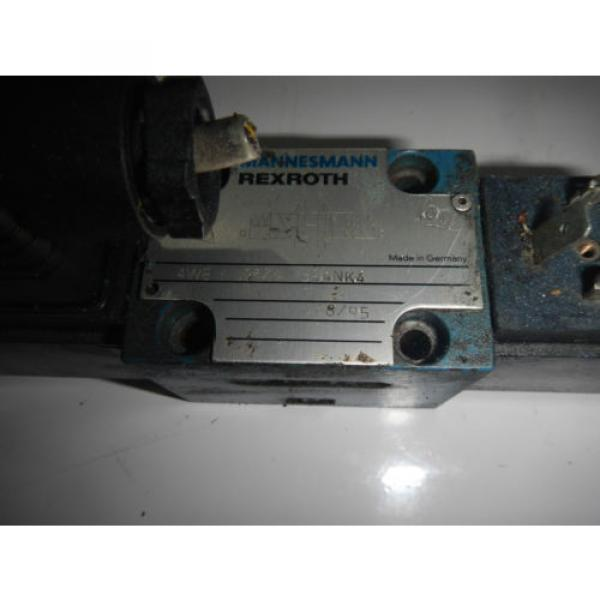 Rexroth 4WE-6J53/A-G24NK4 D03 Hydraulic Directional Valve #2 image