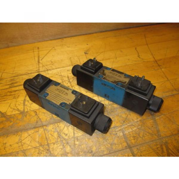 Mannesmann Rexroth 4WE6H60/EW110N9Z45 Hydraulic Directional Valve WZ45-4-L Coil #1 image