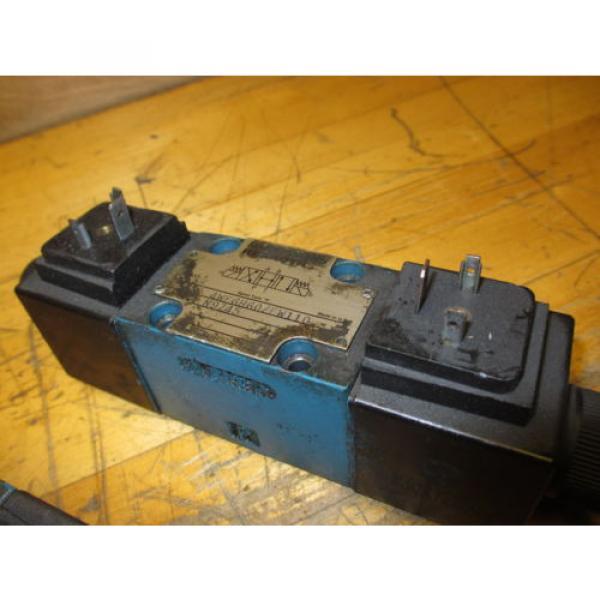 Mannesmann Rexroth 4WE6H60/EW110N9Z45 Hydraulic Directional Valve WZ45-4-L Coil #5 image