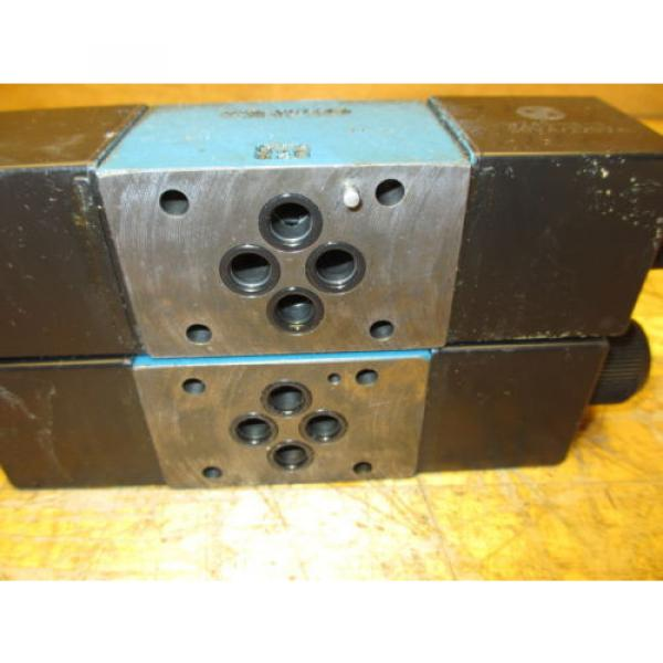 Mannesmann Rexroth 4WE6H60/EW110N9Z45 Hydraulic Directional Valve WZ45-4-L Coil #6 image