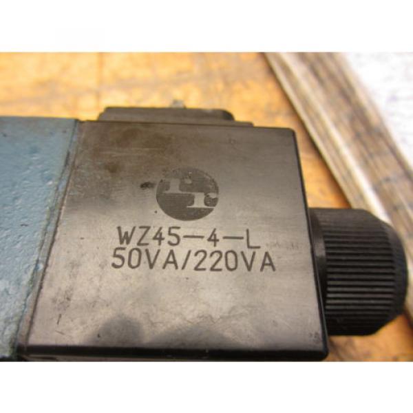 Mannesmann Rexroth 4WE6H60/EW110N9Z45 Hydraulic Directional Valve WZ45-4-L Coil #7 image