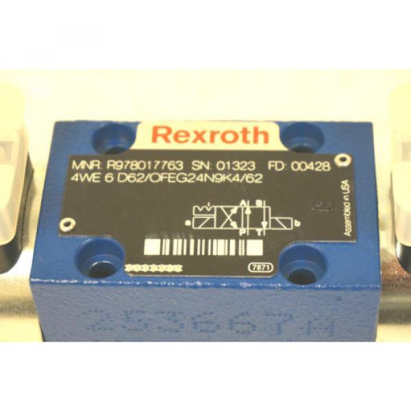 Origin REXROTH R978017763 DIRECTIONAL VALVE 4WE 6 D62/OFEG24N9K4/62 #5 image